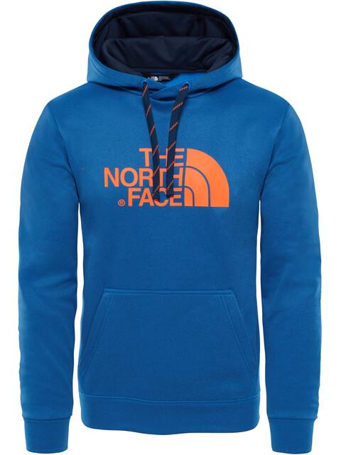The North Face M's Surgent Halfdome Hoodie Turkish Sea Heather/Persian Orange